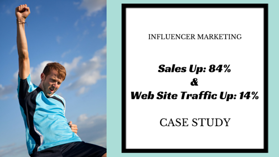 Influencer Marketing Case Study: 84% Increase in Sales + 14% Increase in Website Traffic